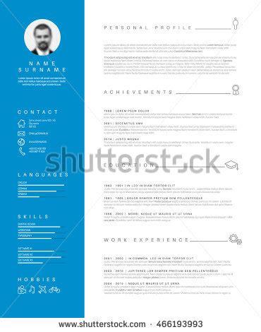 How to Write a CV 18 Professional CV Templates Examples